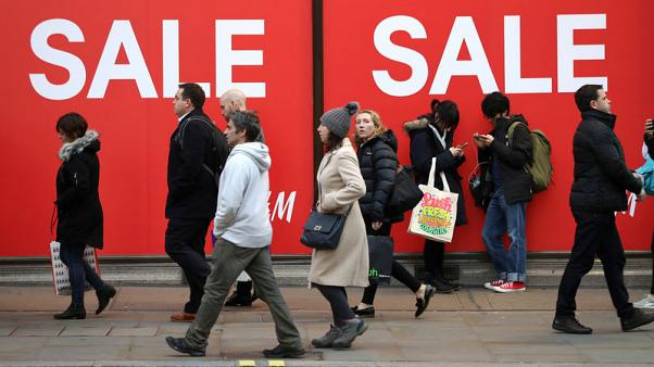UK inflation rises for first time in 2018, seen falling soon