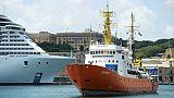 L'Aquarius arrive à Malte le 15 août 2018