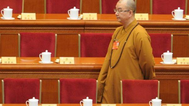 Chine: démission d'un maître bouddhiste accusé de harcèlement sexuel