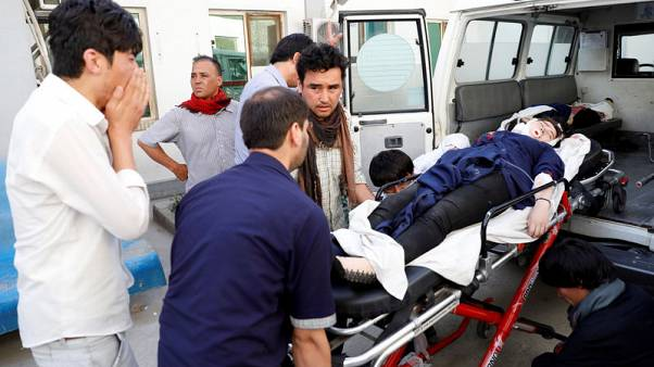 Scores killed in Kabul blast as Afghanistan reels from attacks
