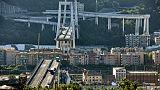 Etat d'urgence à Gênes après l'effondrement meurtrier d'un pont autoroutier
