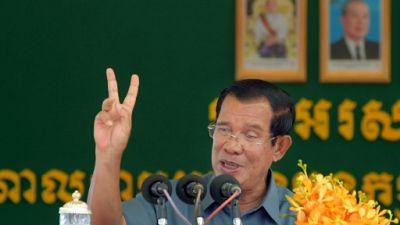 Le premier ministre cambodgien Hun Sen à Phnom Pehn, le 15 août 2018