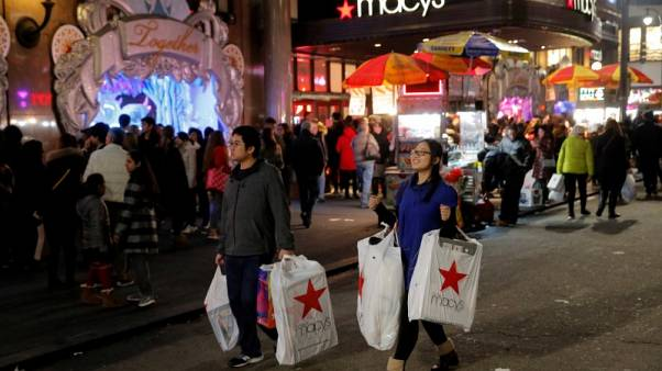 ارتفاع قوي لمبيعات التجزئة الأمريكية وتسارع الإنتاجية
