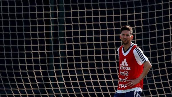 Messi lascia temporaneamente Seleccion