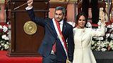 Benitez, un enfant de la dictature, au pouvoir au Paraguay