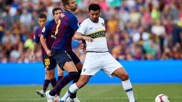 3-0 al Boca, Barca vince 'Trofeo Gamper'