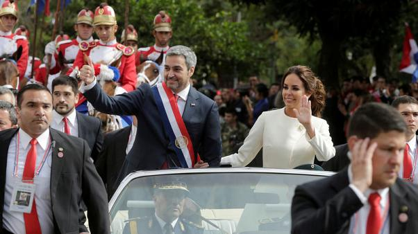 Paraguay's new president takes office, promises to cut poverty