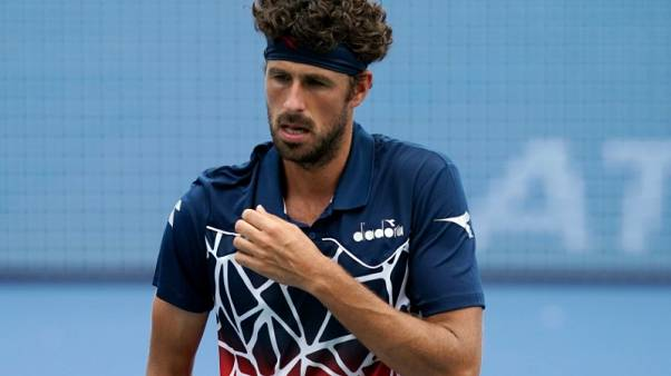 Tennis - Haase stuns Zverev in Cincinnati, Djokovic advances