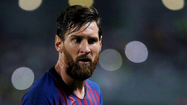 Soccer - Messi to miss Argentina friendlies in U.S.