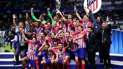 """Supercoupe d'Europe: l'Atlético remporte le """"super-derby"""" face au Real"""