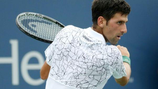 Tennis: Djokovic s'en sort, Muguruza et Wozniacki éliminées, à Cincinnati