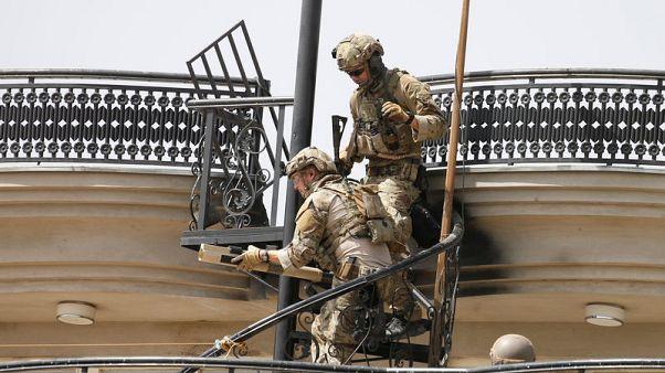 مسلحان يهاجمان مركزا للمخابرات الأفغانية في كابول