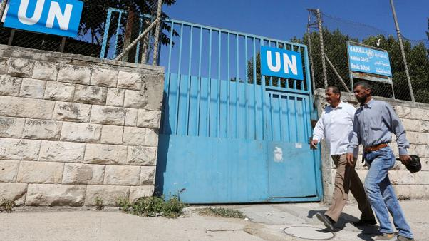 U.N. agency says schools for Palestinian refugees to open on time despite U.S. cut