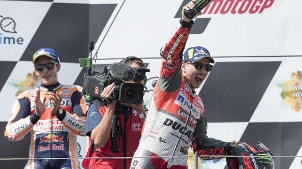 MotoGp: Lorenzo proverà Honda a Valencia
