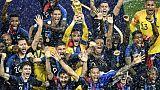 Classement Fifa: la France, championne du monde, en tête