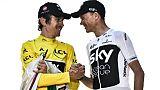 Vuelta: Froome préfère le Tour de Grande-Bretagne, Thomas aussi