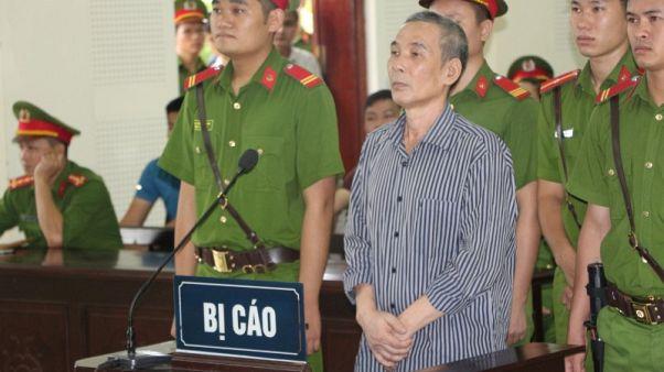 محكمة فيتنامية تقضي بسجن ناشط 20 عاما بتهمة محاولة إسقاط الدولة