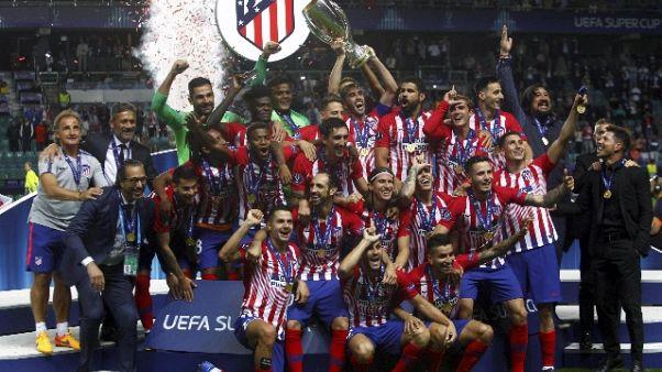 Supercoppa:Simeone più vincente Atletico