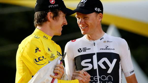 Cycling - Team Sky's Thomas and Froome to skip Vuelta for Tour of Britain