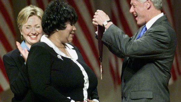 Pluie d'hommages mondiaux après la mort d'Aretha Franklin