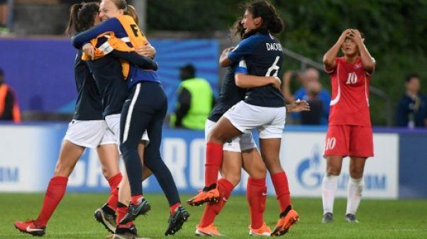 Mondial U20: les Françaises en demies en battant les tenantes nord-coréennes
