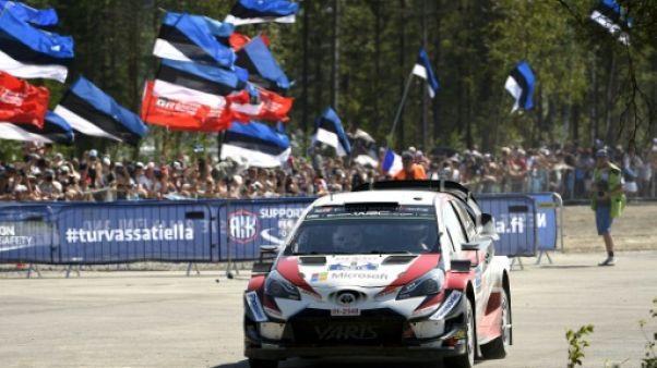 Rallye d'Allemagne: Tänak prend la tête après la spéciale d'ouverture