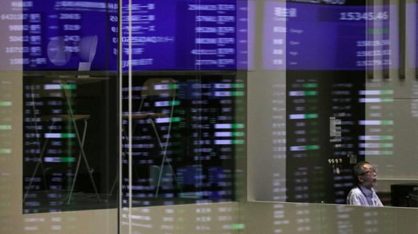 Asian shares gain on U.S.-China trade talks, lira recovers