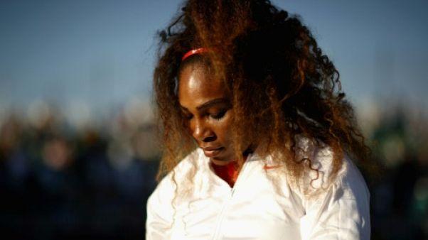 Tennis: Serena Williams pensait trop fort à sa soeur tuée avant la pire défaite de sa carrière
