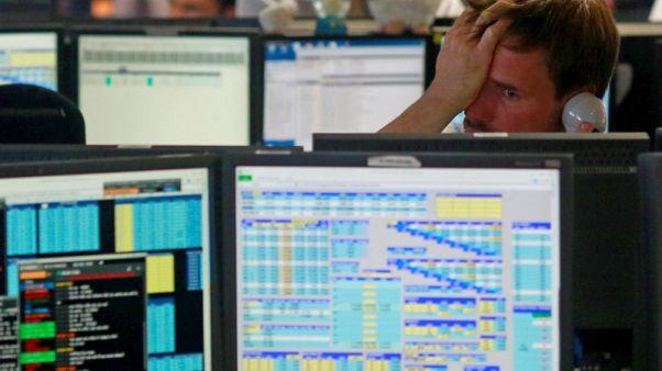 European shares flat as uncertainties on trade war, Turkey remain