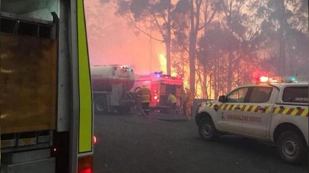 مصرع طيار أثناء إخماد حرائق غابات في استراليا