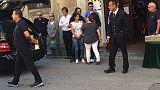 A Pisa funerali di Alberto e Marta