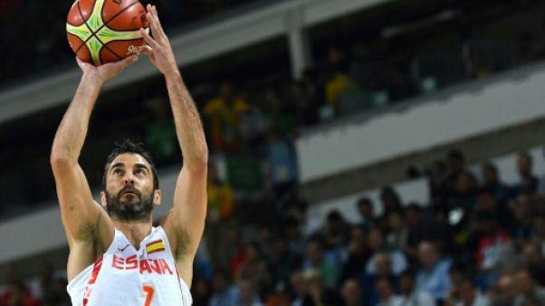 Basket: l'Espagnol Juan Carlos Navarro prend sa retraite