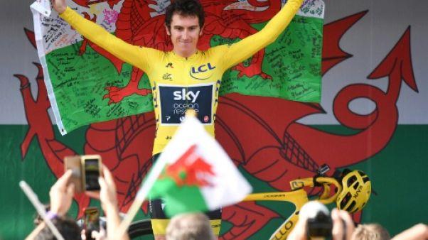 Cyclisme: Geraint Thomas fera son retour au Tour d'Allemagne