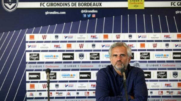 """Bordeaux: """"Poyet a dépassé les bornes"""" affirme le président Martin"""