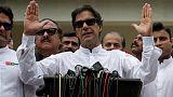 """عمران خان يتعهد بمعاقبة """"كل من نهبوا باكستان"""" بعد انتخابه رئيسا للوزراء"""