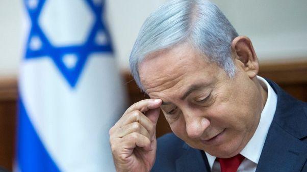 """نتنياهو يقول بعد استجوابه مجددا في قضية فساد """"القضية تنهار"""""""