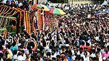 Des milliers d'Indiens aux funérailles de leur ex-Premier ministre