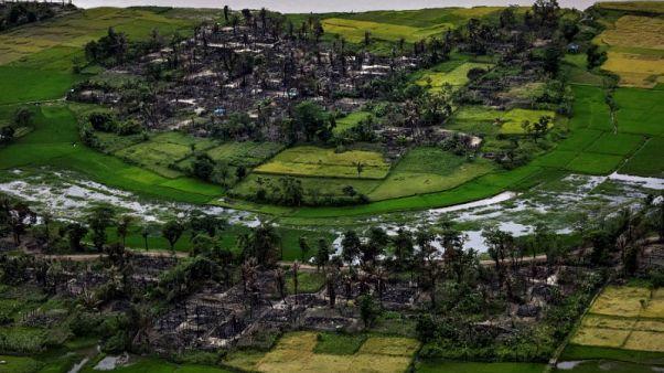 U.S. imposes sanctions on Myanmar military over Rohingya crackdown