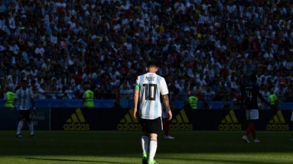 Argentine: Messi laissé au repos pour les matches amicaux de 2018