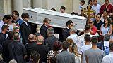 Emotion et retenue dans l'Hérault pour l'adieu au rugbyman Louis Fajfrowski