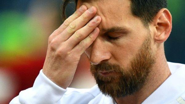 Argentine: sans Messi ni les cadres, et place aux jeunes