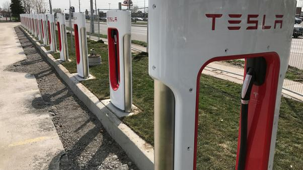 Investors query funding costs at a private Tesla