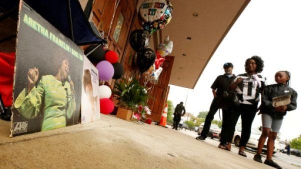 Détroit prépare ses adieux à Aretha Franklin au milieu des hommages