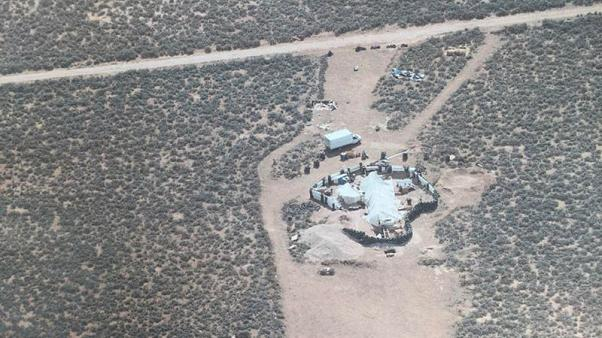 Trailer at New Mexico compound had been stolen in  Alabama - police