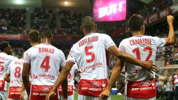 Ligue 1: Lyon, battu 1-0 à Reims, enregistre sa première défaite de la saison