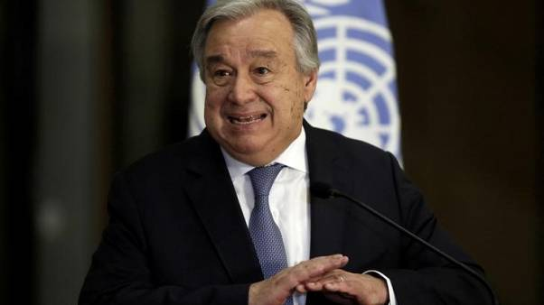 U.N. chief suggests options for improved Palestinian protection