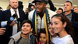 Usain Bolt arrive en Australie pour assouvir son rêve de devenir footballeur pro