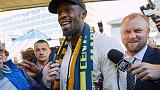 Bolt lands Down Under for 'real' soccer mission