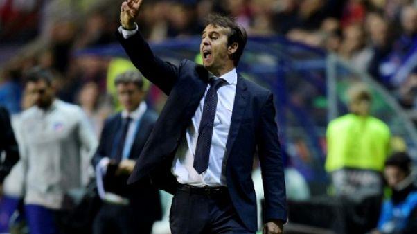 "Real Madrid: parler mercato n'est pas ""prioritaire"", juge Lopetegui"