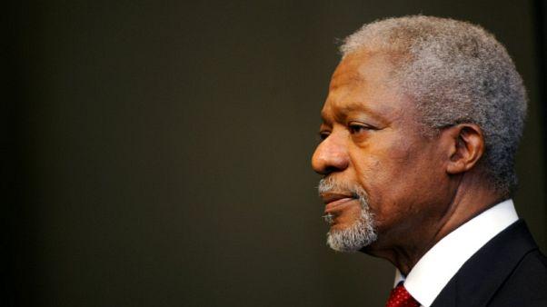 """غانا تنعى كوفي عنان وتصفه بأنه """"أحد أعظم مواطنينا"""""""